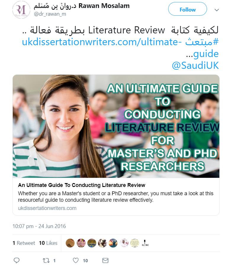 UKDW_Influencer Tweet_1_UK-Dissertation-Writers