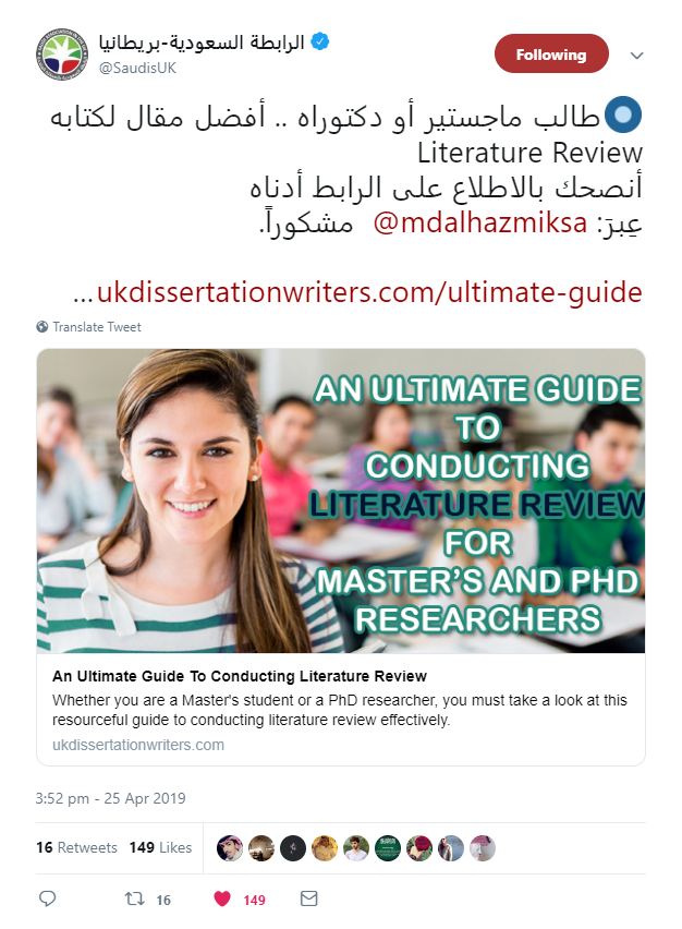 UKDW_Influencer Tweet_4_UK-Dissertation-Writers