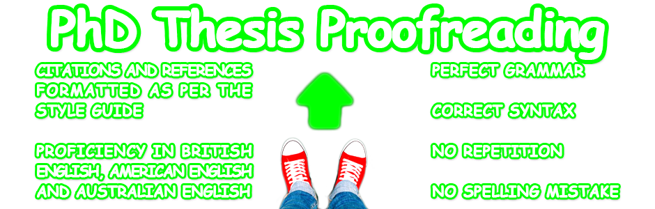 Top-quality PhD thesis proofreading service - UK Dissertation Writers