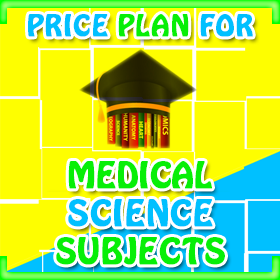 Price Plan for Medical Science Projects