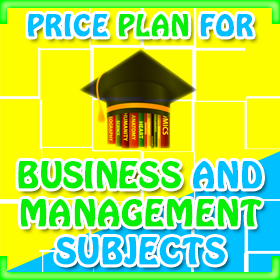 Price plan for business and management subjects - UK Dissertation Writers