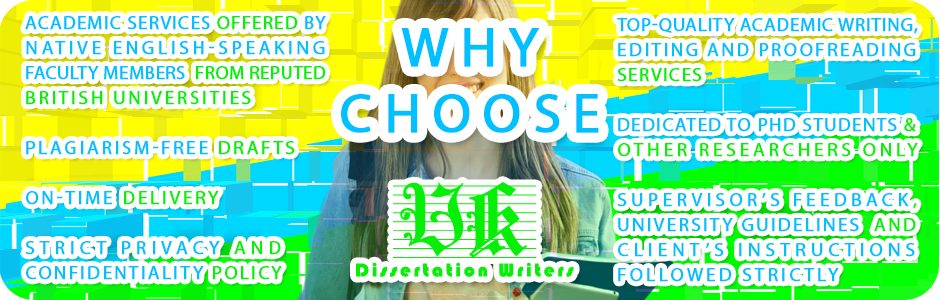 Why Choose UK Dissertation Writers