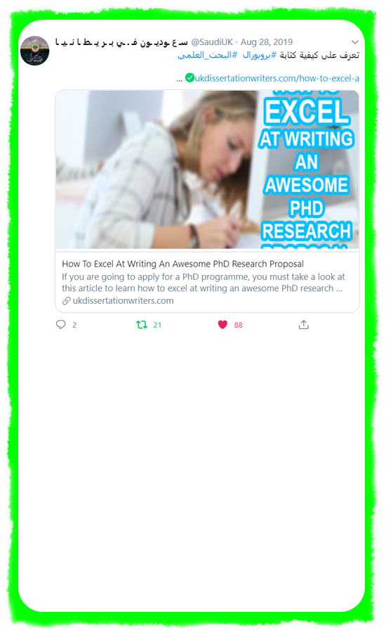 2 - Thought Leadership on Twitter - UK Dissertation Writers - White Background