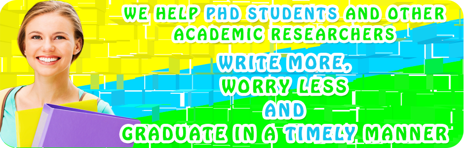 UK Dissertation Writers helps PhD students write more, worry less and graduate quicker